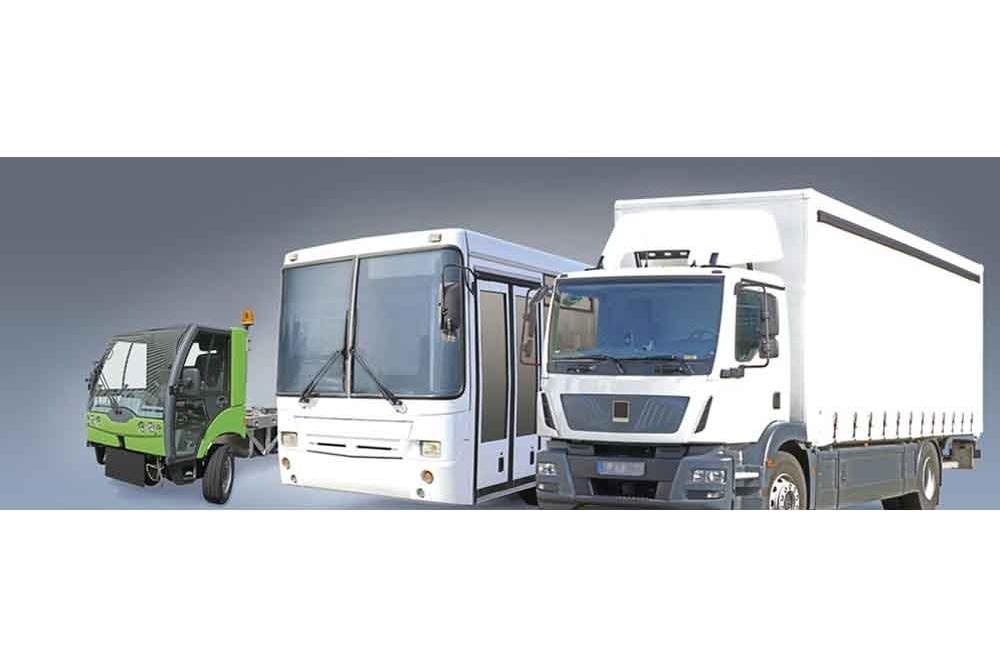 Accionamientos híbridos para vehículos comerciales y medios de transporte